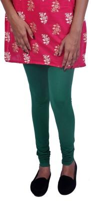 Womens Cottage Women's Black, Green Leggings