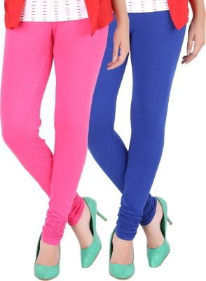 Dansik Women's Pink, Blue Leggings