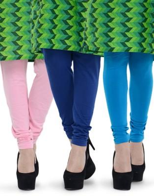 Tjaggies Women's Blue, Light Blue, Pink Leggings