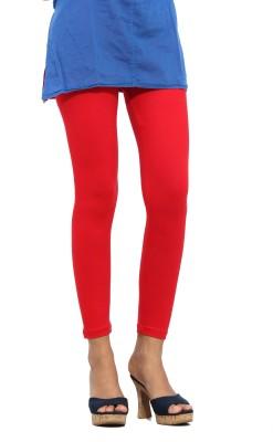 S Vaga Women's Red Leggings