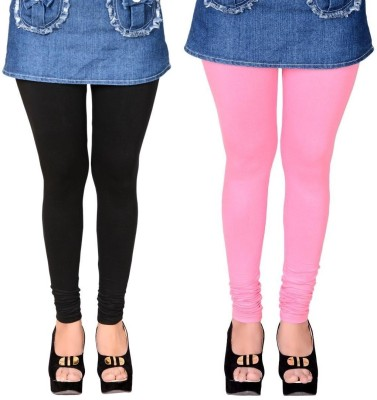 LGC Women's Black, Pink Leggings