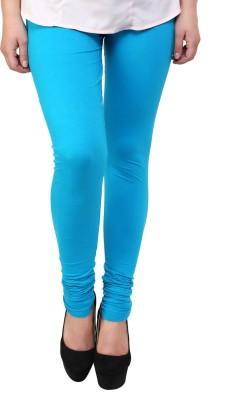 Shopping Queen Women's Light Blue Leggings