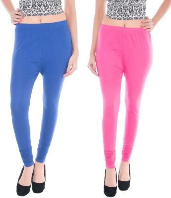 Colors More Women's Pink, Blue Leggings