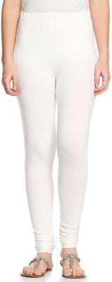 Lakos Women's White Leggings