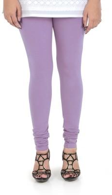 Bonjour Women's Purple Leggings