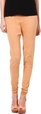 Adam n Eve Women's Beige Leggings