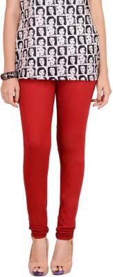 Traditional 2 Trendy Women's Red Leggings