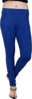 Baremoda Women's Blue Jeggings