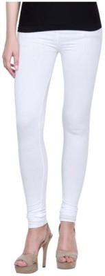 Family Bazaar Women's White Leggings