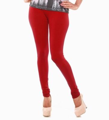 MeritFashion Women's Red Leggings