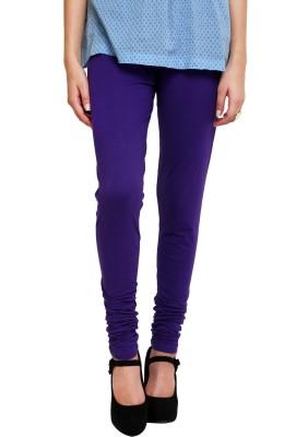 MemSahiba Girl's Purple Leggings