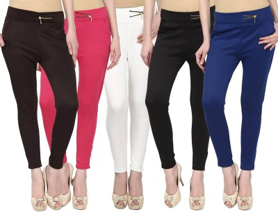 Civilized Showdown Women's Multicolor Treggings