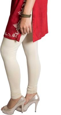 Red Saffron Women's White Leggings