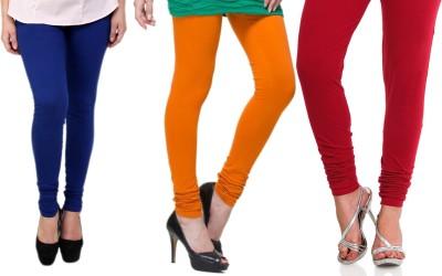 Lienz Women's Blue, Orange, Red Leggings