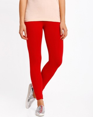 Aanchal Women's Red Leggings