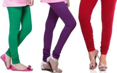 Lienz Women's Green, Purple, Red Leggings