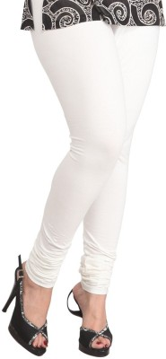 vivancreation Girl's White Leggings