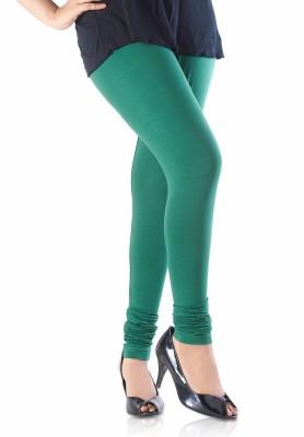 WhitePetals Women's Green Leggings