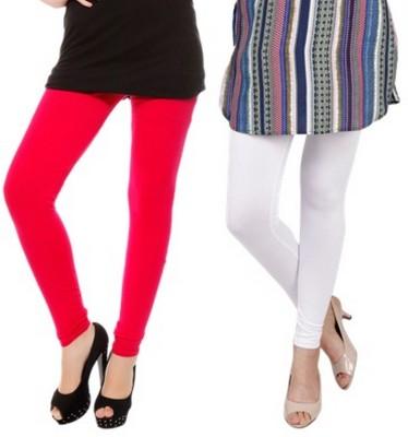 Bembee Women's Red, White Leggings