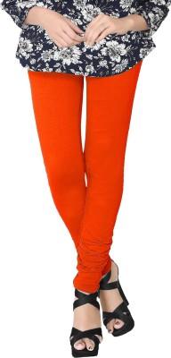 JV Wears Women's Orange Leggings