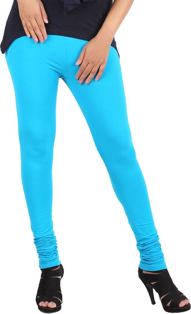 Appulse Womens Light Blue Leggings