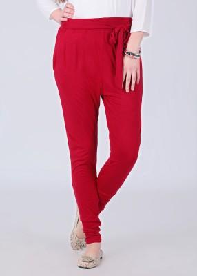 Riot Jeans Women's Red Leggings