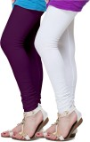 Fronex India Women's Purple, White Leggi...