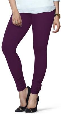 ambey shree trendz Women,s Purple Leggings