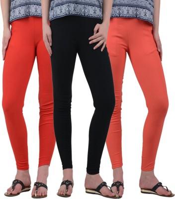 American-Elm Women's Multicolor Leggings
