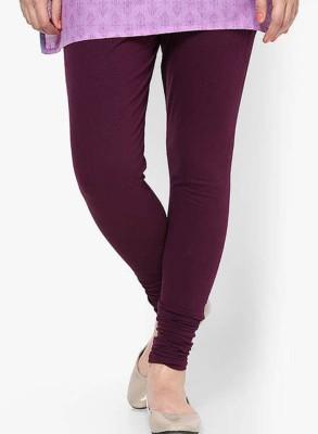 V Brown Women's Maroon Leggings