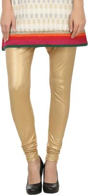 Awadh Enterprises Women's Gold Leggings