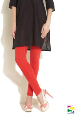 Shilimukh Women's Red Leggings