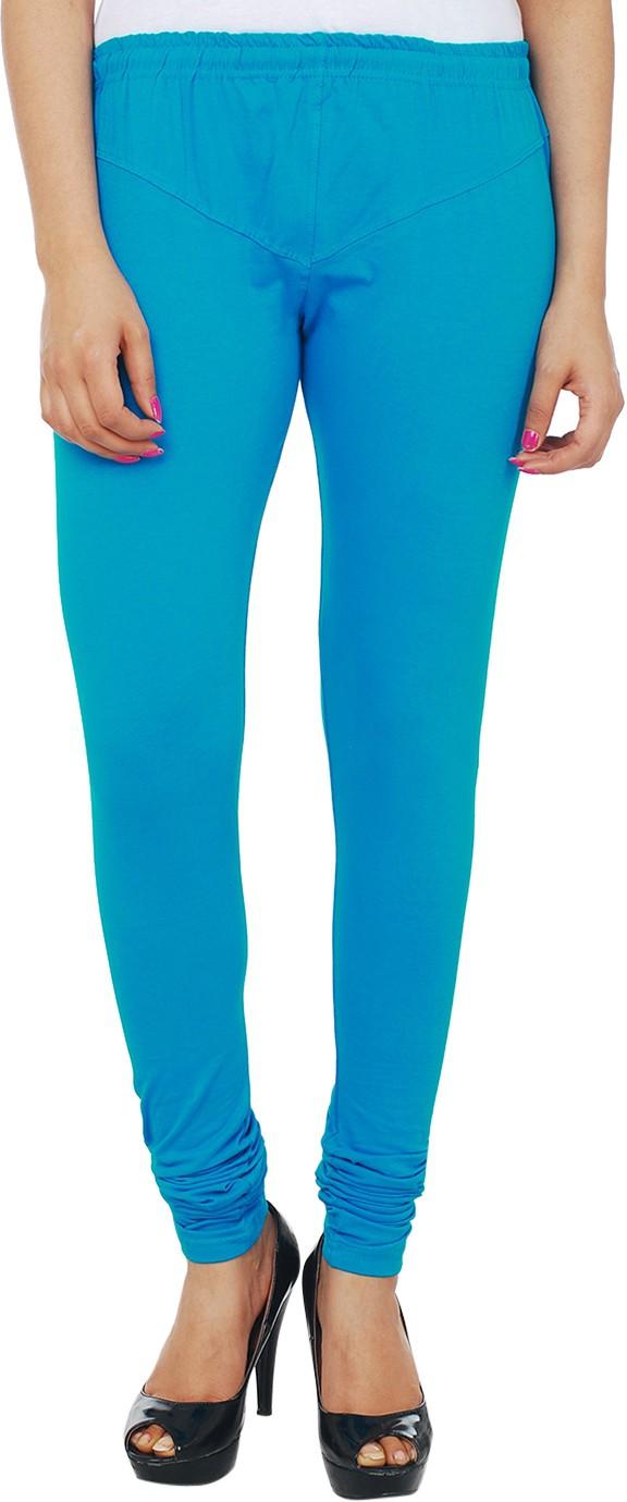 Knitgee Womens Blue Leggings