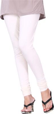 Trendif Women's White Leggings