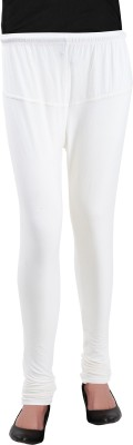 Heart&Arrow Women's White Leggings