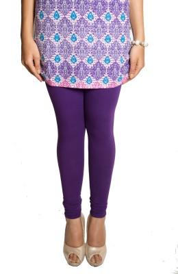 Red Saffron Women's Purple Leggings