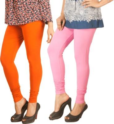 Berries Women's Orange, Pink Leggings