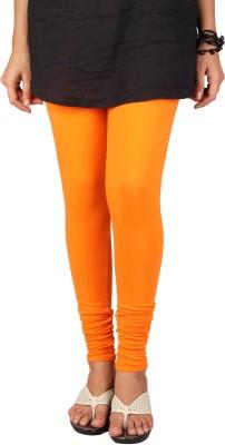 PurpleYou Women's Orange Leggings