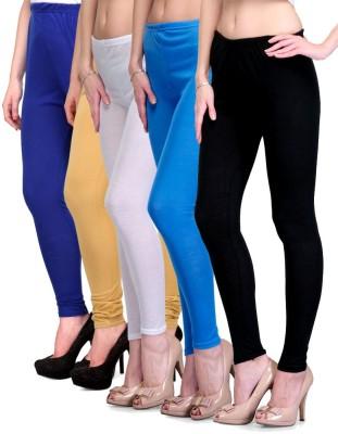 Rowena Women's Blue, Beige, White, Light Blue, Black Leggings