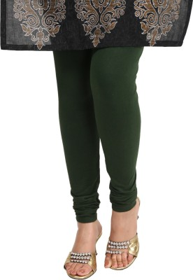 Sohniye Women's Dark Green Leggings