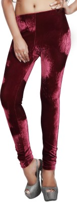 Comix Women's Maroon Leggings