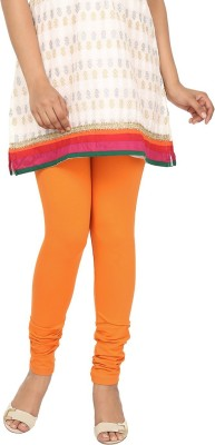 Agrima Fashion Women's Orange Leggings