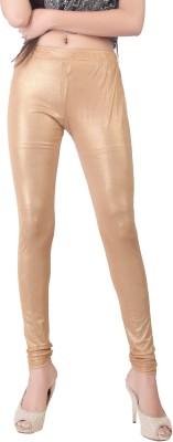 Bottoms More Women's Gold Leggings