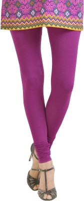 Aanchal Women's Purple Leggings