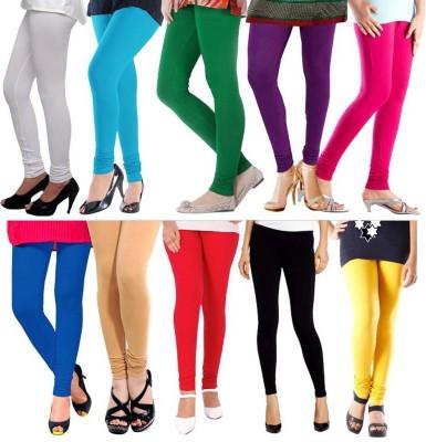 PeacockFashionz Women's Multicolor Leggings