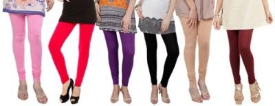 Prekrasna Women,s Pink, Red, Purple, Black, Gold, Maroon Leggings