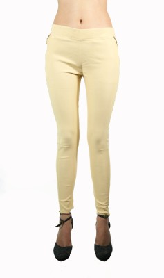 Apsara Women's Beige Jeggings