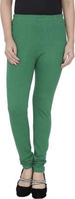 Trendline Women's Dark Green Leggings