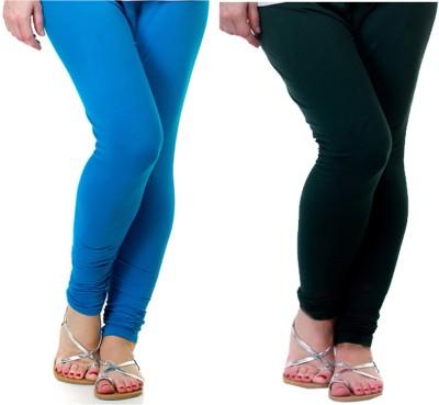 Archway Women's Blue, Green Leggings