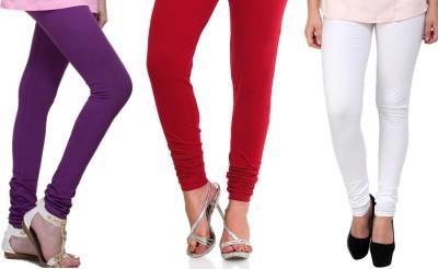 Lienz Women's Purple, Red, White Leggings